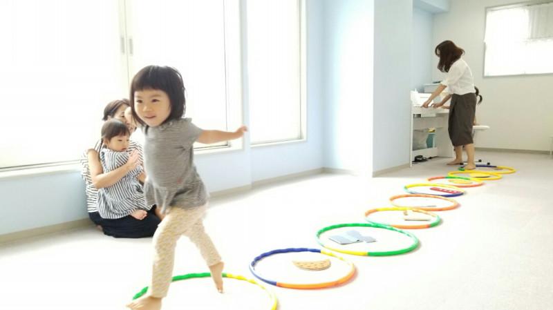 2歳児リトミックレッスン