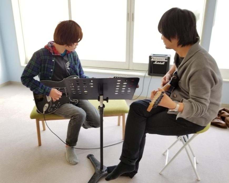 ギターレッスン(エレキギター・アコースティックギター)