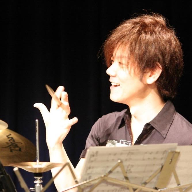 ドラム講師 渕 雅隆先生