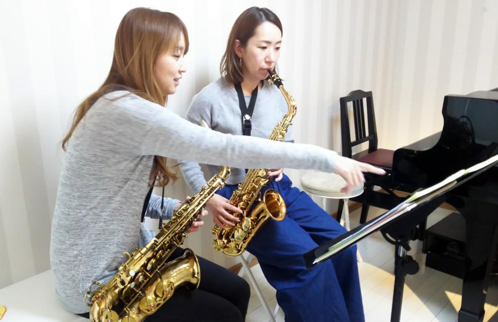 大阪 豊中 吹田のサックス教室