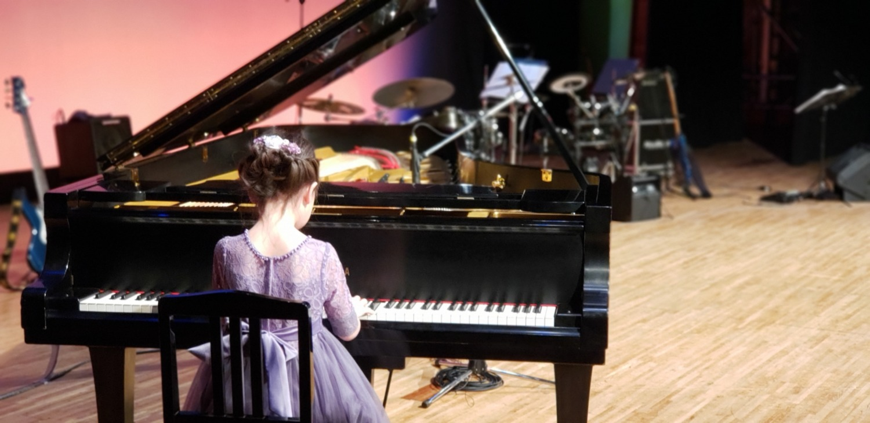 発表会クラシックピアノ演奏1