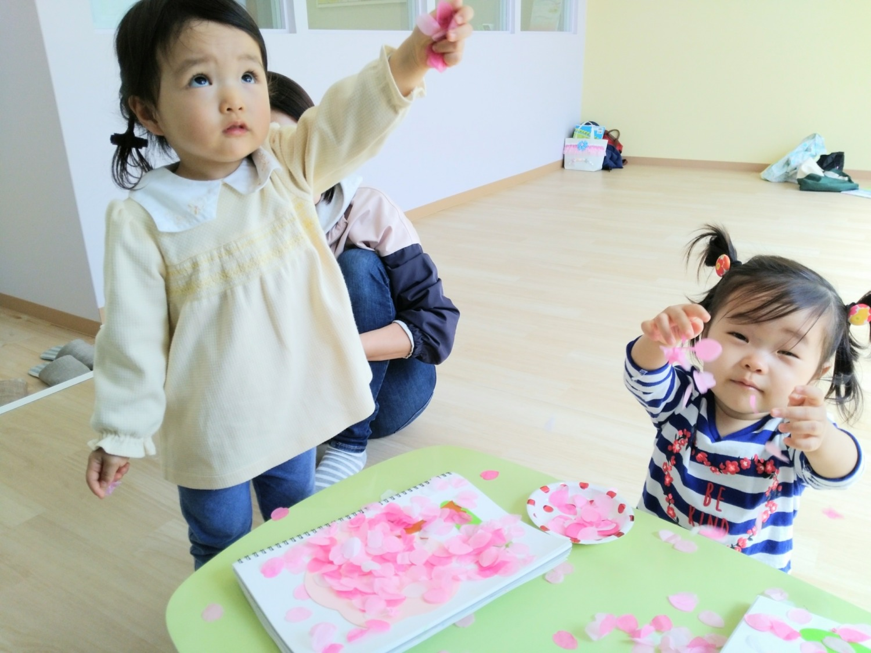 4月のリトミックレッスン☆春を探そう!