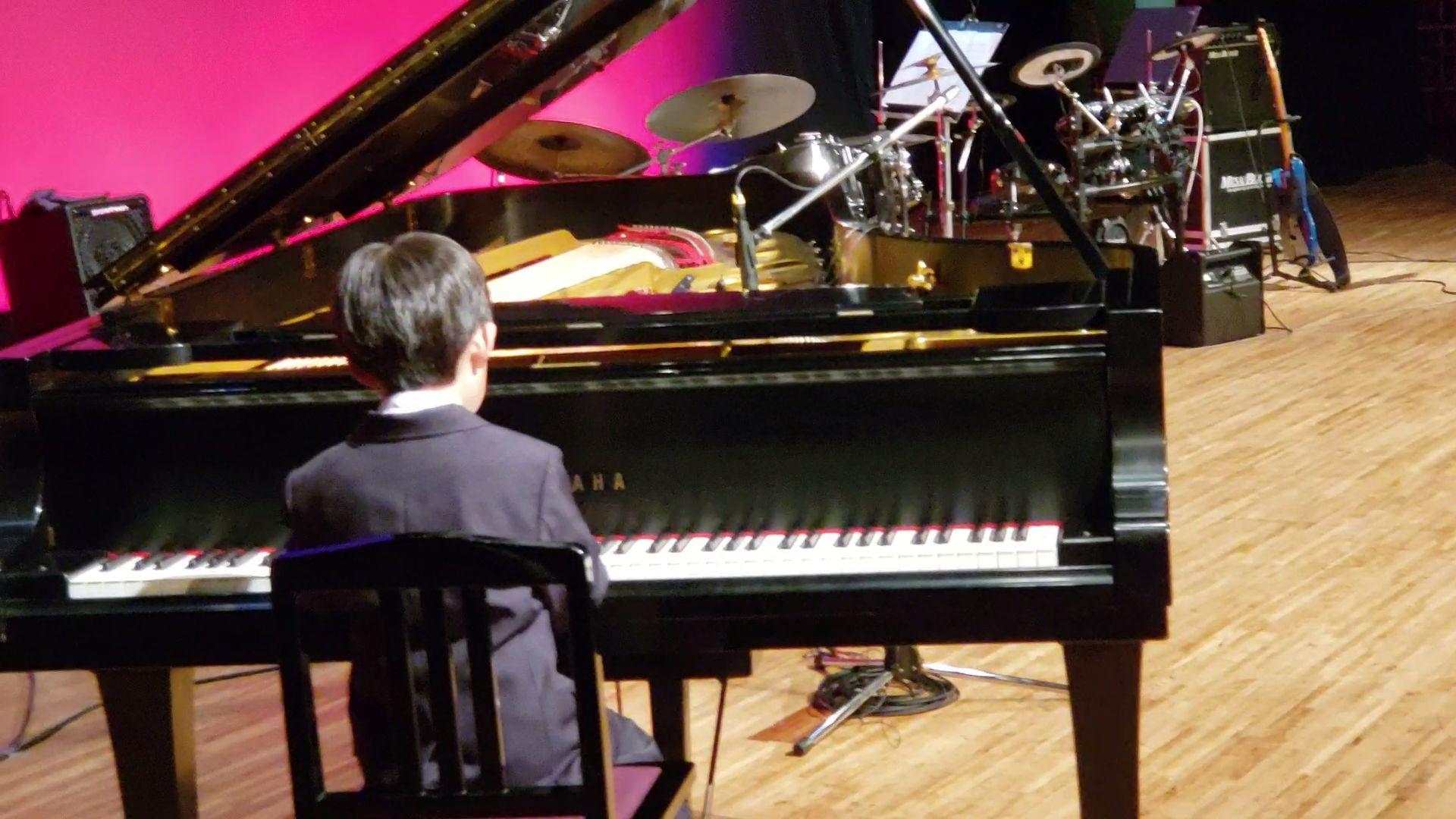 発表会クラシックピアノ演奏