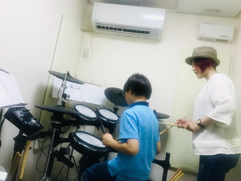 ドラムレッスン♪