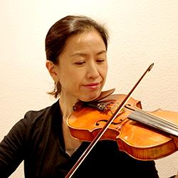バイオリン講師 楢﨑由貴先生