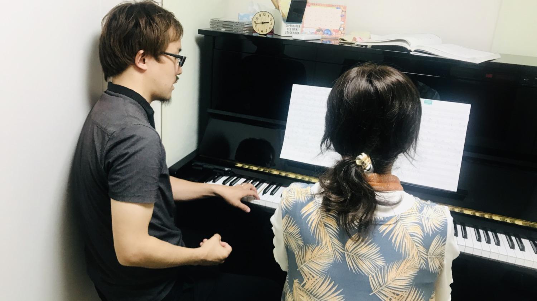 ジャズピアノレッスン♪