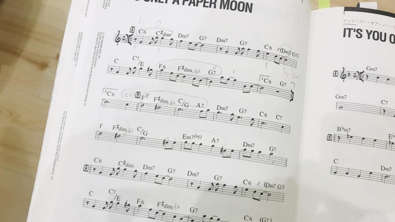 ジャズピアノの曲集