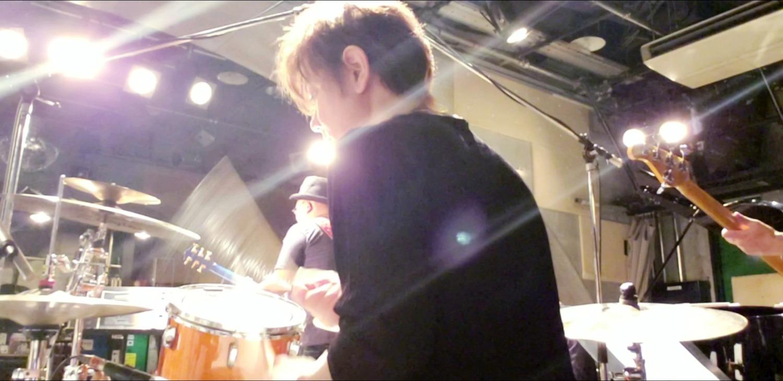 渕雅隆のドラム。リハーサル動画