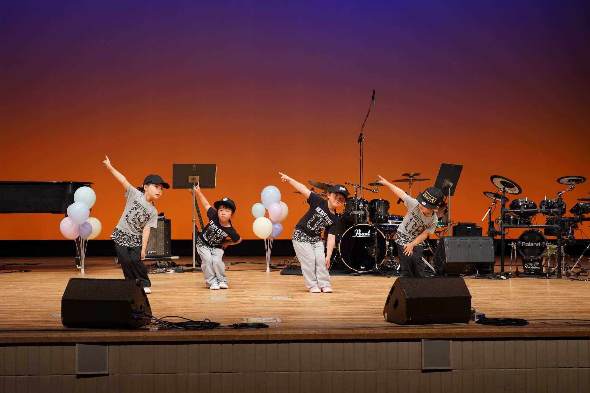 Fucciミュージックスクール発表会2021年4/17日ダンスコース