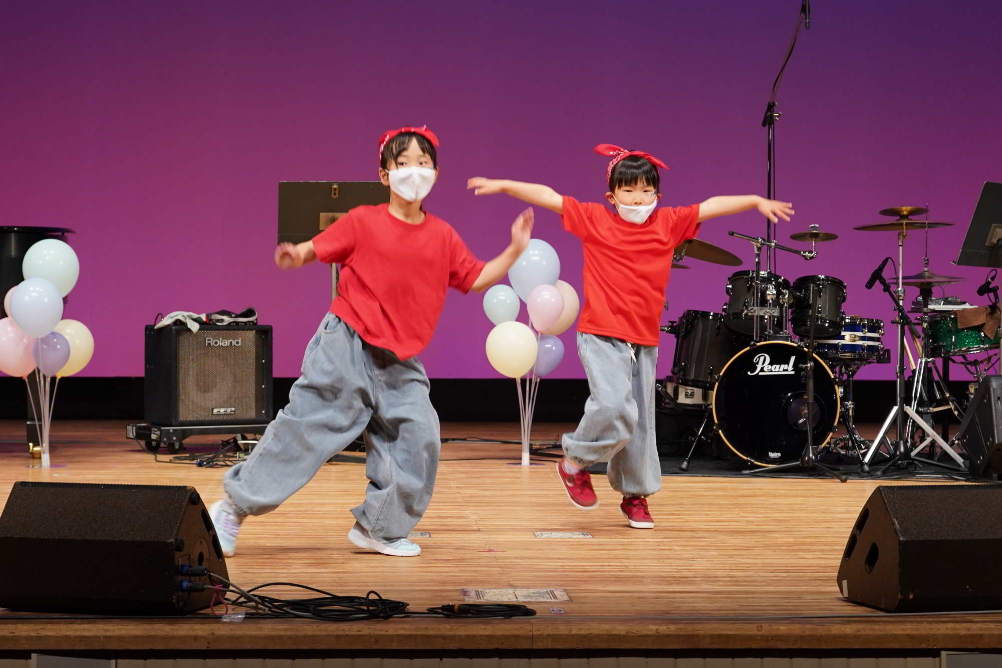 Fucciミュージックスクール発表会ダンスコース小学1年生