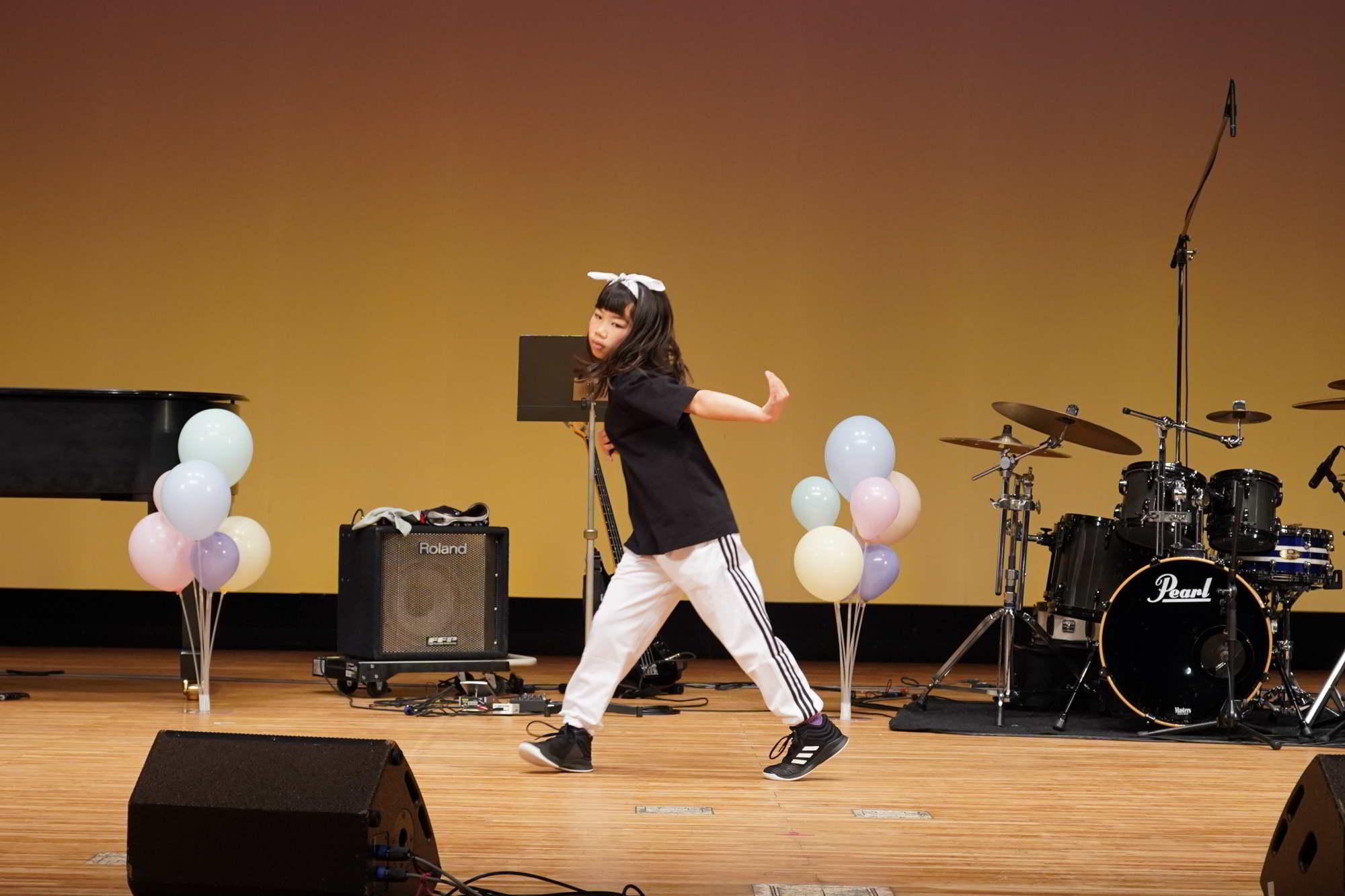 Fucciミュージックスクール発表会ダンスコース小学生