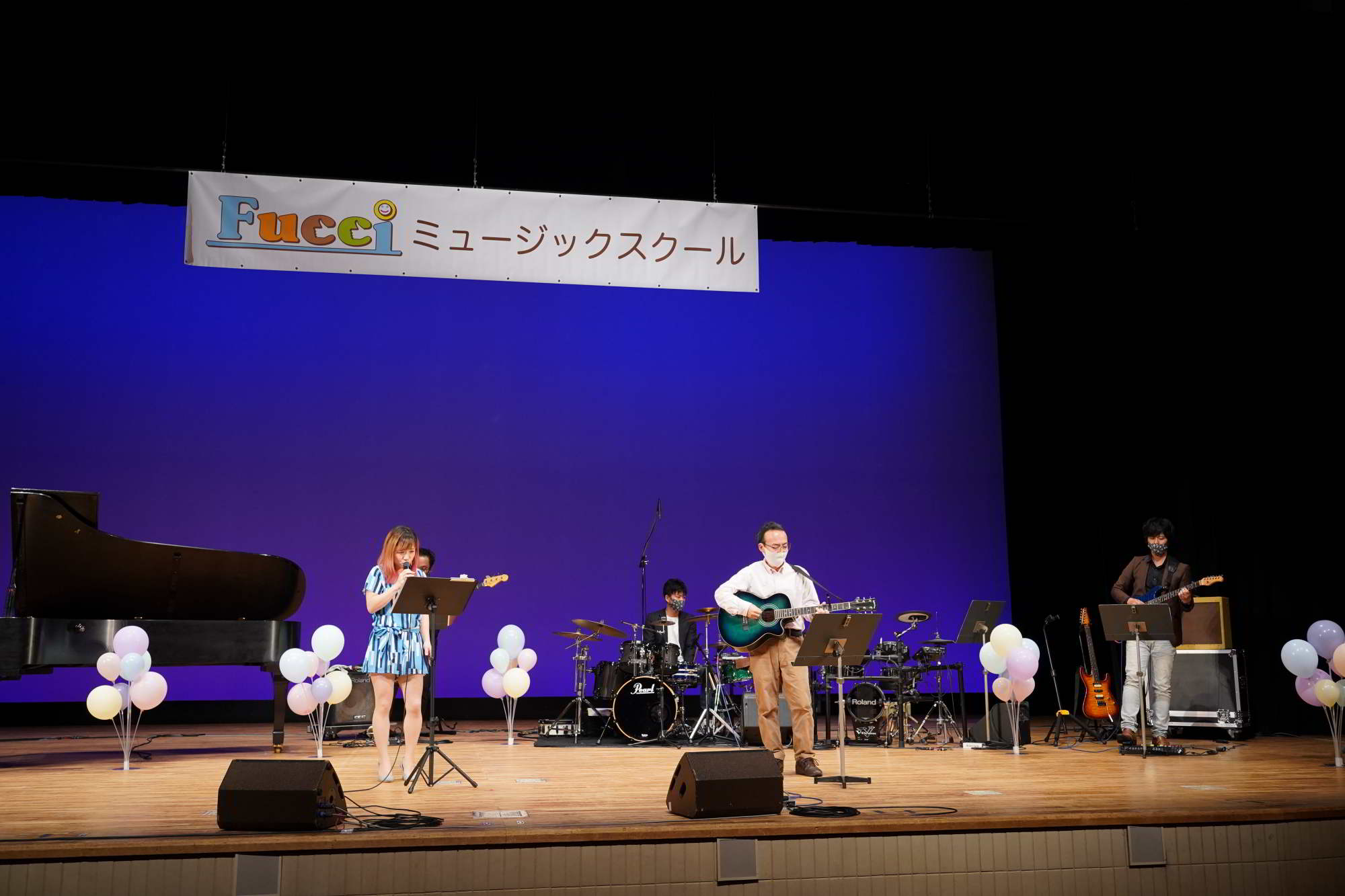 Fucciミュージックスクール発表会ライブ