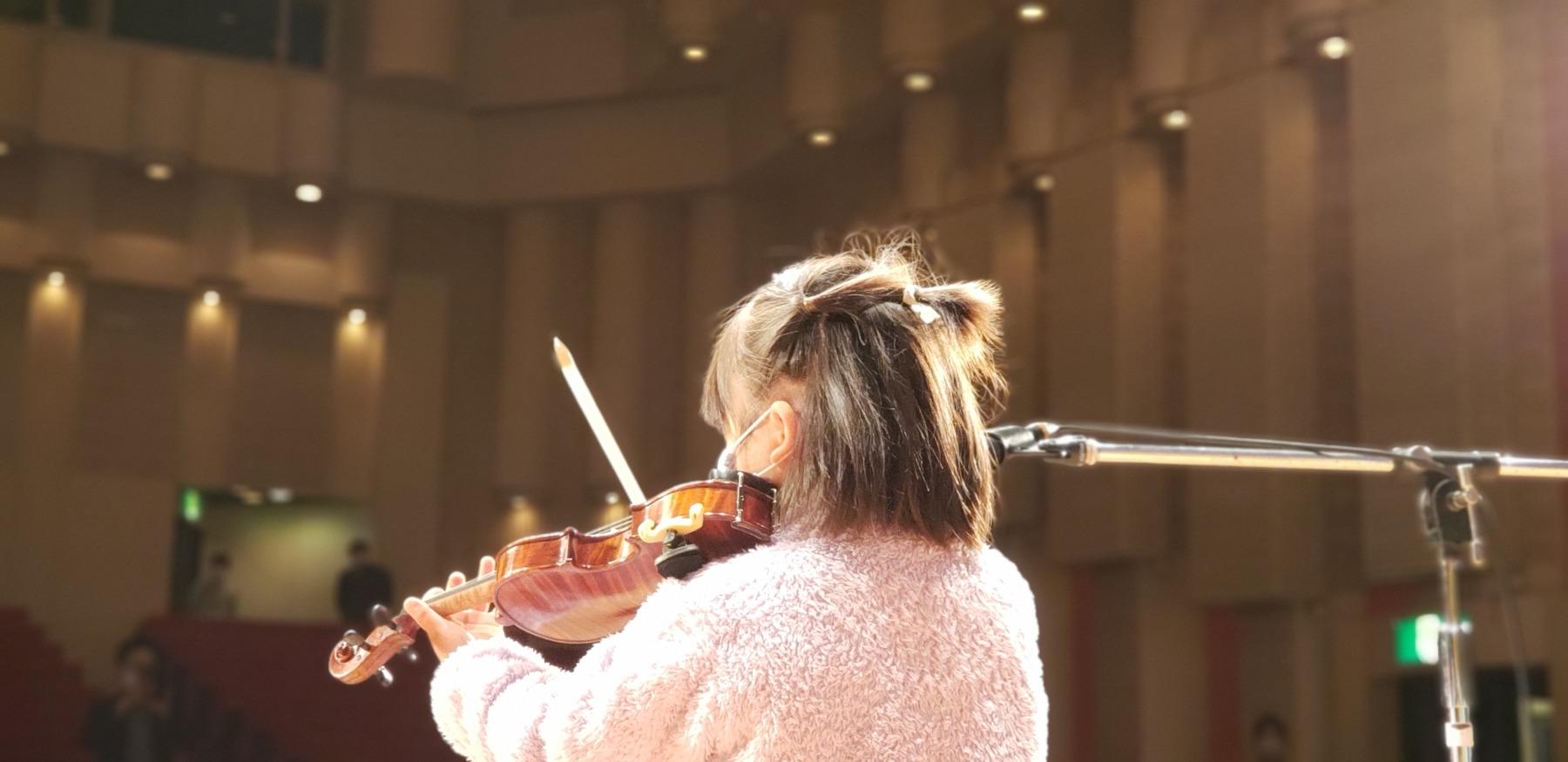 Fucciミュージックスクール発表会2021バイオリン演奏